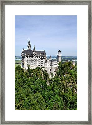 Neuschwanstein Castle Framed Print by Rick Frost