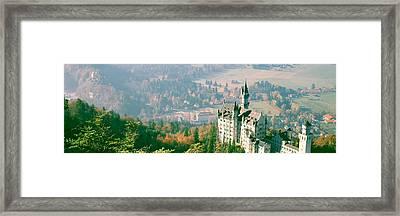 Neuschwanstein Castle Schwangau Bavaria Framed Print by Panoramic Images