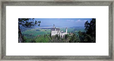 Neuschwanstein Palace Bavaria Germany Framed Print