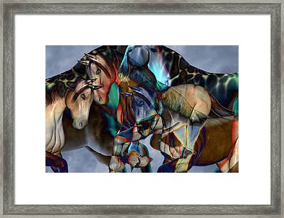 Neutral Tones Framed Print