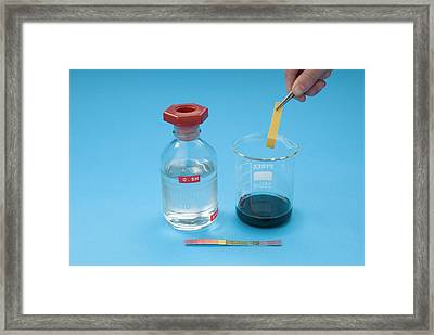 Neutralisation Reaction Framed Print by Trevor Clifford Photography
