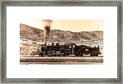 Nevada Northern Railway Framed Print