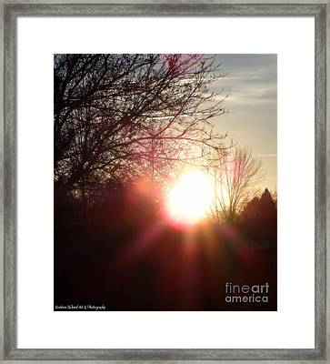 Nevada Sunset Framed Print