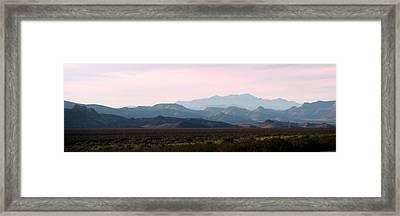 Nevada Sunset Framed Print