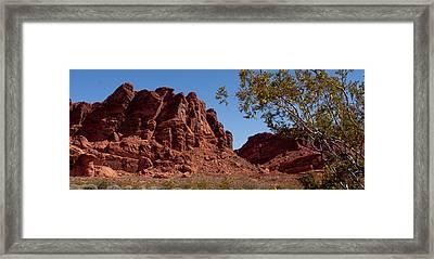 Nevada's Gem Framed Print by Wayne Vedvig