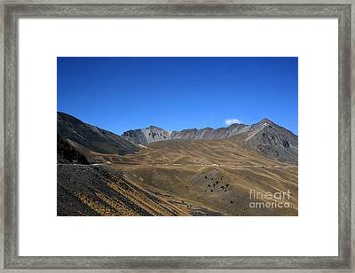 Nevado De Toluca Mexico Framed Print