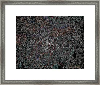 Never Alone 2 Framed Print by Dorothy Berry-Lound