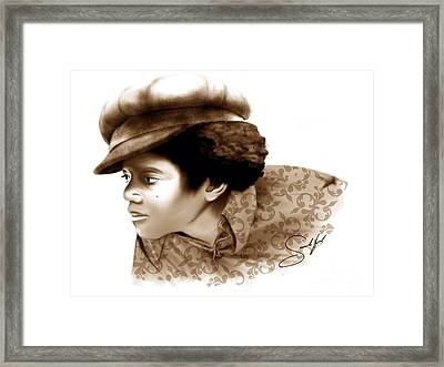 Never Can Say Goodbye Framed Print by Rod Sandiford