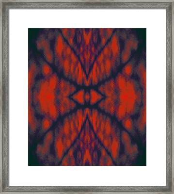 Never - Closing Eye - Of - Indifference 2014 Framed Print by James Warren
