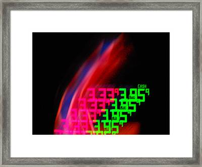 Never Ending Price Rise Framed Print by James Welch