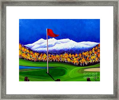 Framed Print featuring the painting Never Enough by Jackie Carpenter