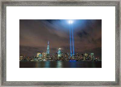 Never Forget Framed Print by Kristopher Schoenleber