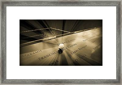 Never Forgotten Framed Print by Stephen Stookey