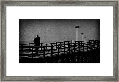 Never Goodbye Framed Print by Paulo Abrantes