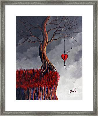 Never Letting Go Framed Print by Shawna Erback