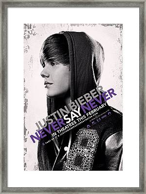 Never Say Never 2 Framed Print by Movie Poster Prints
