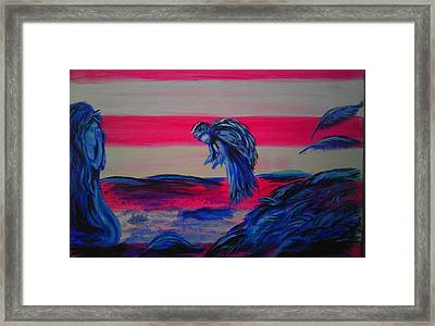 Never To Late Framed Print
