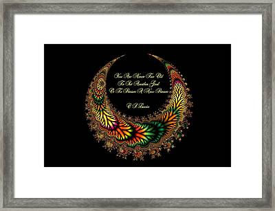 Never Too Old Framed Print