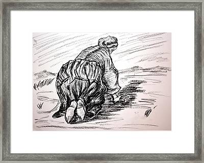 Never Too Proud Framed Print by Paul Morgan