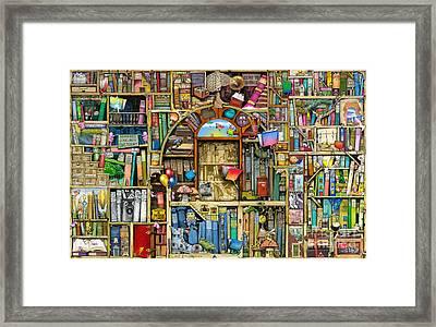 Neverending Stories Framed Print by Colin Thompson