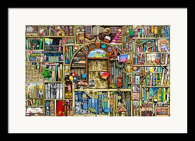 Shelf Digital Art Framed Prints