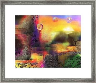 Neverland Framed Print by Francoise Dugourd-Caput
