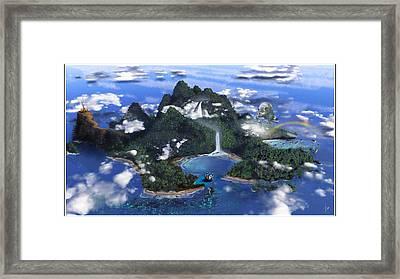 Neverland Framed Print by Omar Rubio