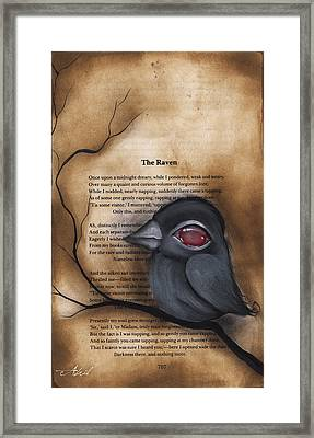 Nevermore #1 Framed Print by  Abril Andrade Griffith