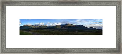 Framed Print featuring the photograph Nevis Range by Bud Simpson