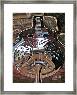 New 6 String Guitar Framed Print