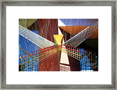 New Age Performing Arts Center Framed Print by Mariola Bitner