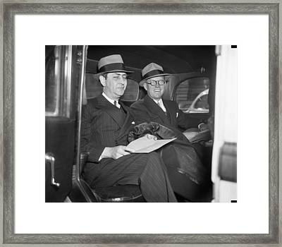 New Ambassador Joseph Kennedy Framed Print by Underwood Archives
