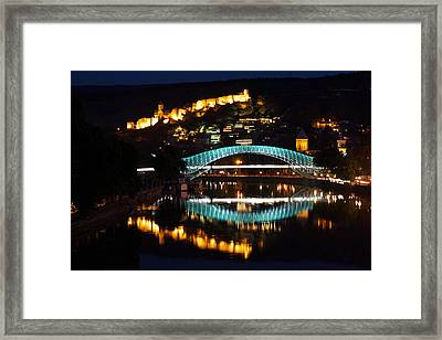 New And Old Framed Print