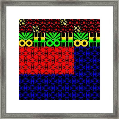 New Art Font 10 Framed Print