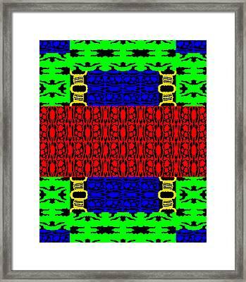 New Art Font 11 Framed Print
