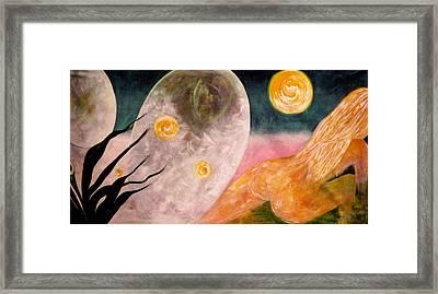 New Atlantis Framed Print