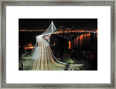 New Bay Bridge Framed Print