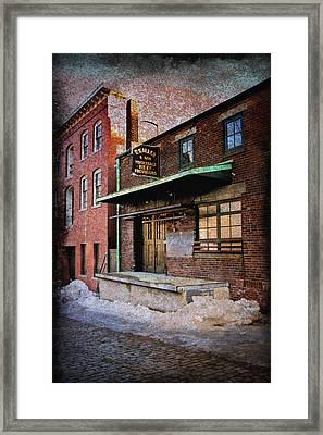 New Bedford Ma Framed Print