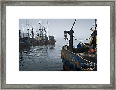 New Bedford Waterfront No. 2 Framed Print by David Gordon