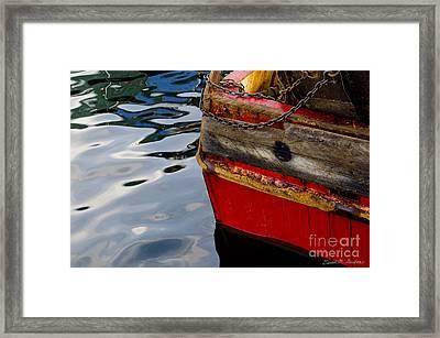 New Bedford Waterfront No. 8 Framed Print by David Gordon