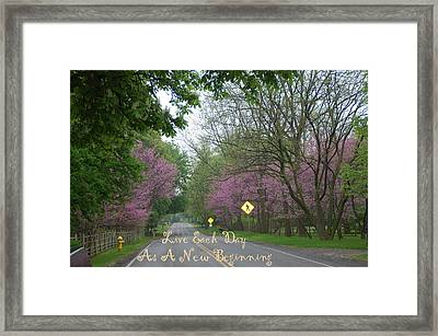 New Beginning Framed Print by Aimee L Maher Photography and Art Visit ALMGallerydotcom