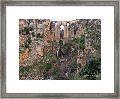 New Bridge V2 Framed Print