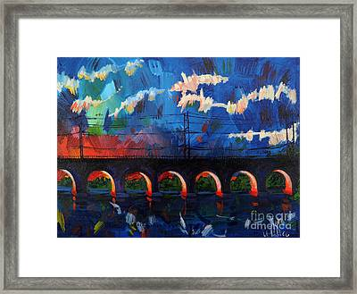 New Brunswick Certainly Has It's Moments Framed Print by Michael Ciccotello