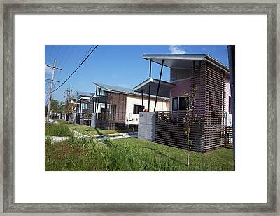 New Building Framed Print by Jim West