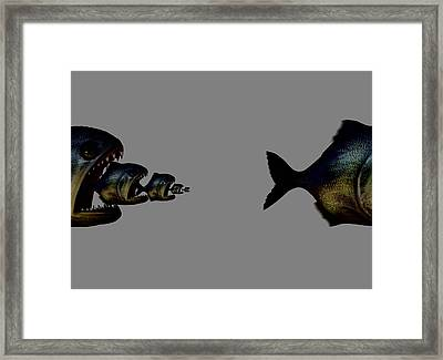 New Capitalism, Conceptual Artwork Framed Print by Science Photo Library