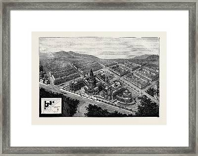 New City Hall And Law Courts At San Francisco Framed Print