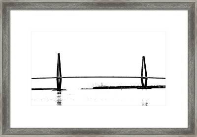 New Cooper River Bridge Framed Print by Philip Zion