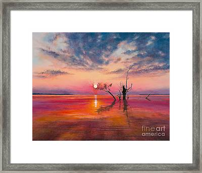 New Dawn Framed Print by Jeanette French