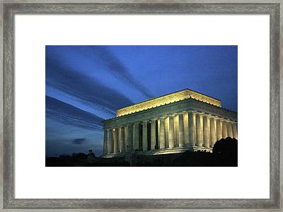 New Dawn Of The Republic Framed Print