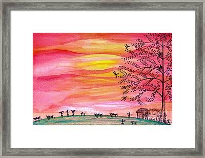 New Day Framed Print by Anjali Vaidya